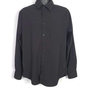 Brody Button Front Long Sleeve Shirt Large